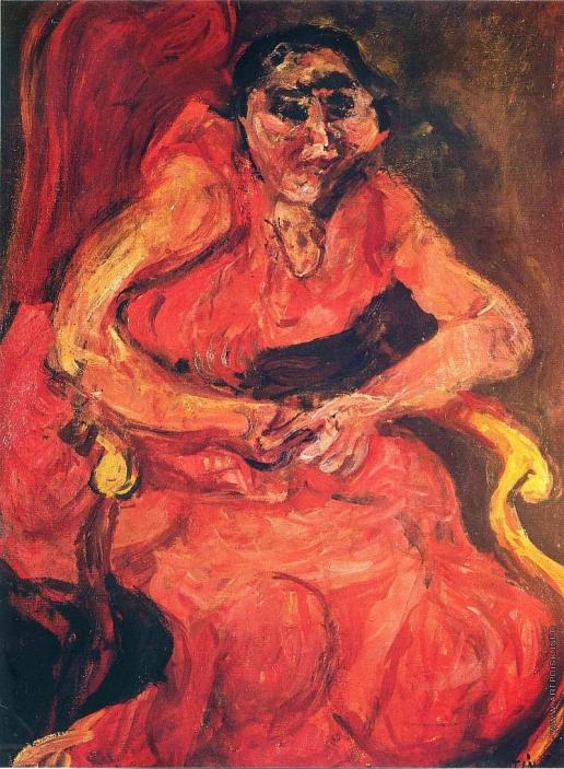 Сутин Х. С. Женский портрет