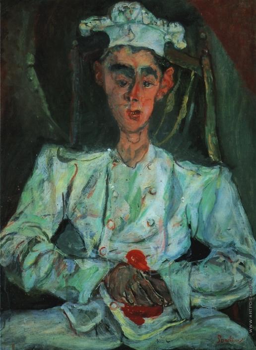Сутин Х. С. Пироженщик с красным платком