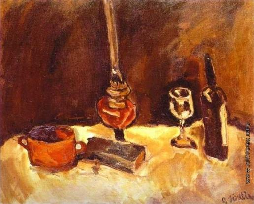 Сутин Х. С. Натюрморт с лампой