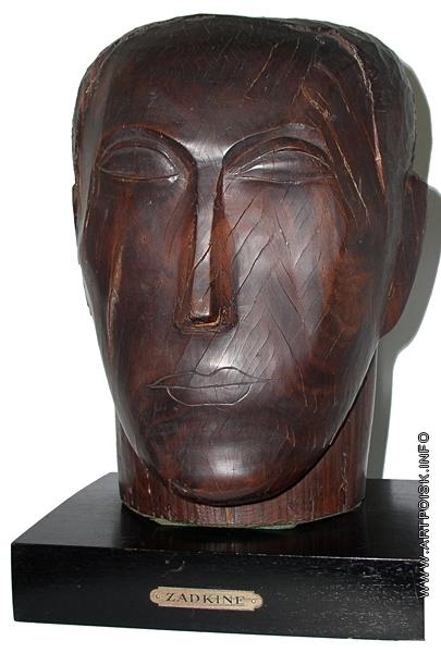 Цадкин О. А. Голова мужчины
