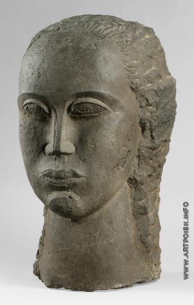 Цадкин О. А. Женская голова