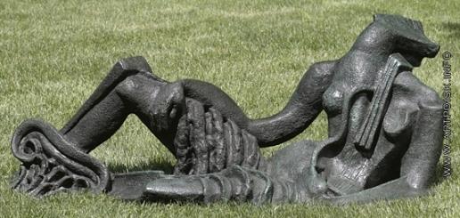 Цадкин О. А. Скульптура для сада