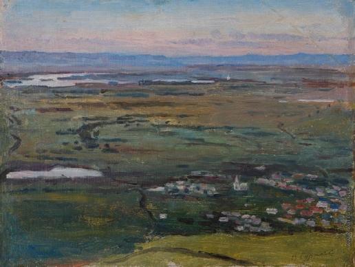 Суриков В. И. Село Торгашино