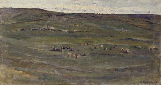 Суриков В. И. Табун лошадей в Барабинской степи