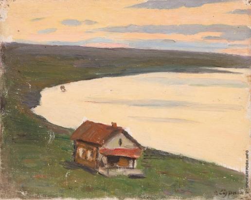 Суриков В. И. Озеро Шира