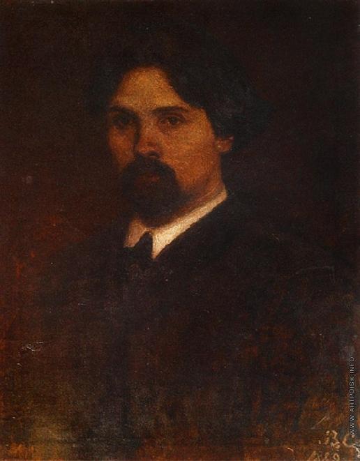Суриков В. И. Автопортрет