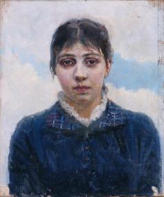 Суриков В. И. Портрет Е.А. Суриковой, жены художника