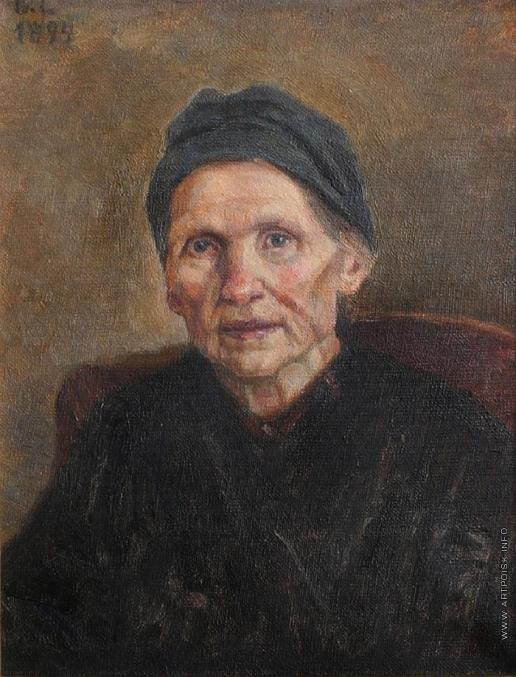 Суриков В. И. Портрет П.Ф. Суриковой, матери художника