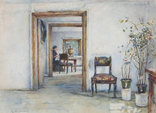 Суриков В. И. Комната в Красноярском доме Сурикова
