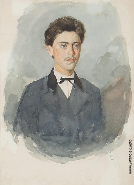 Суриков В. И. Портрет А.И. Сурикова