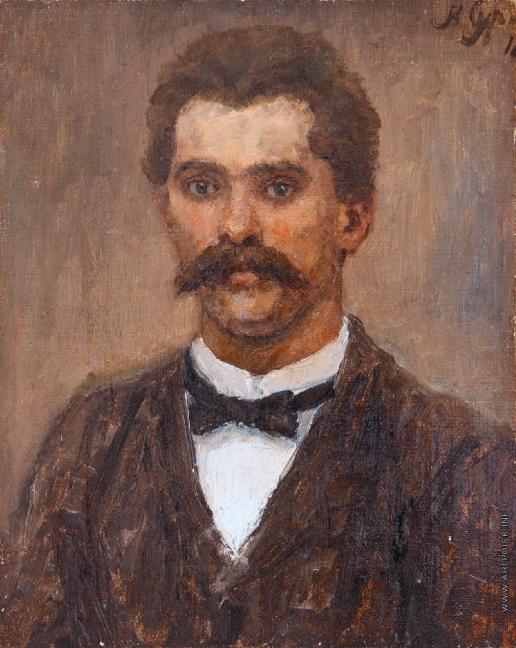 Суриков В. И. Портрет брата художника А.И. Сурикова