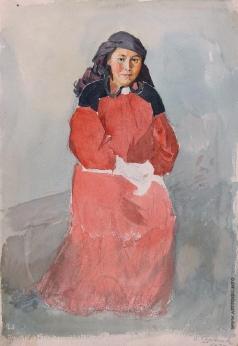 Суриков В. И. Минусинская татарка