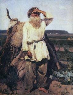 Суриков В. И. Старик-огородник