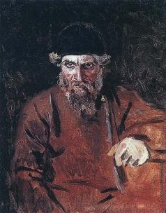 Суриков В. И. Стрелец. Этюд к картине «Утро стрелецкой казни»