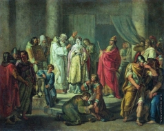 Акимов И. А. Крещение княгини Ольги в Константинополе. не позднее