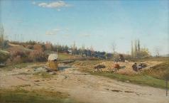 Васильковский С. И. Приготовление камней в постройку