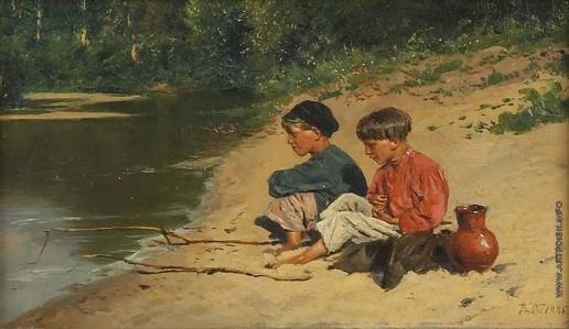 Маковский В. Е. Рыбачки
