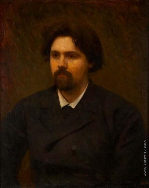 Крамской И. Н. Портрет В.И. Сурикова