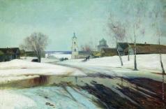 Аладжалов Э. Х. Весна в деревне