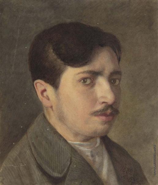 Бобров А. А. Портрет молодого человека