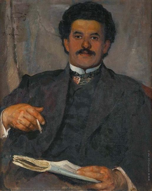 Бродский И. И. Портрет А.И. Свирского
