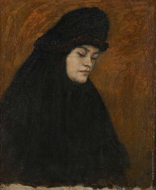 Суриков В. И. Голова монашенки