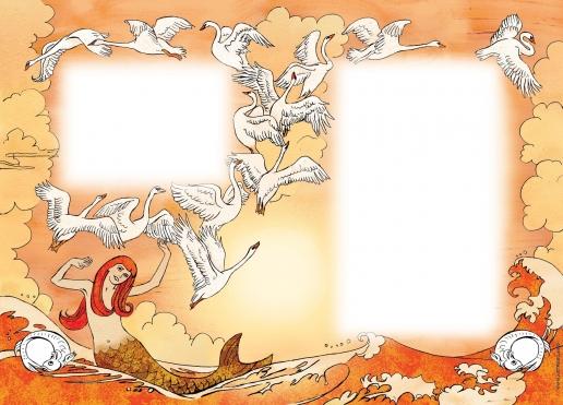 """Комракова Е. А. Иллюстрация к сказке Г.Х. Андерсена """"Русалочка"""""""