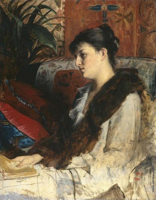 Башкирцева М. К. Женский портрет