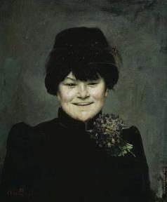 Башкирцева М. К. Три улыбки. Улыбка девушки