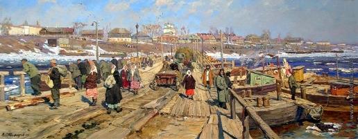 Стожаров В. Ф. В Кострому