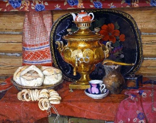 Стожаров В. Ф. Чай с калачами
