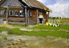 Стожаров В. Ф. Тепло. Деревня Шигино