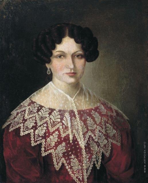 Аргунов Я. И. Женский портрет