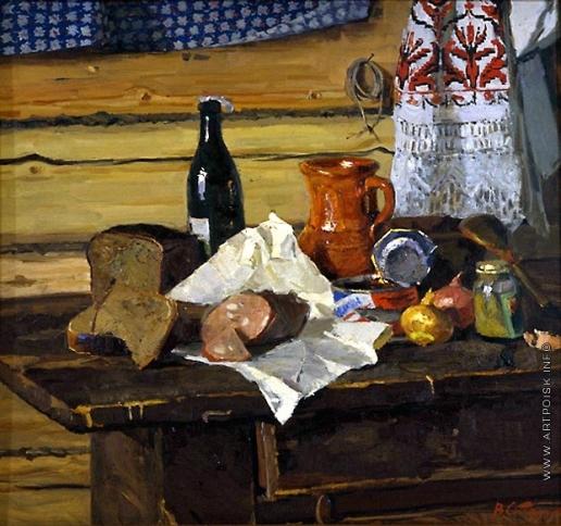 Стожаров В. Ф. Наьюрморт с горчицей