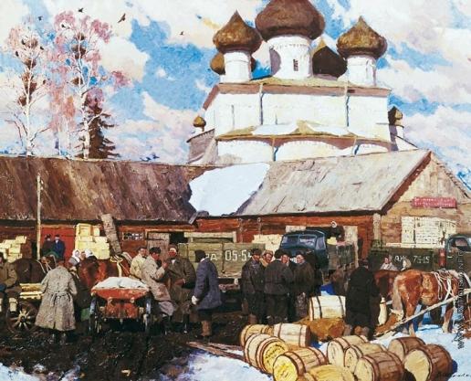 Стожаров В. Ф. Каргополь. Склады сельпо