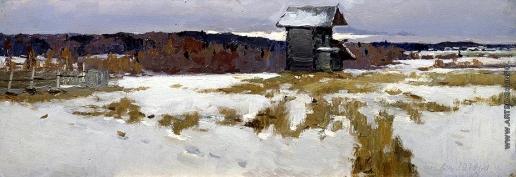 Стожаров В. Ф. Деревня Глуховки