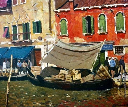 Стожаров В. Ф. Венеция. Полдень