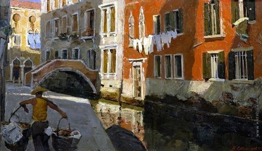 Стожаров В. Ф. Утро в Венеции
