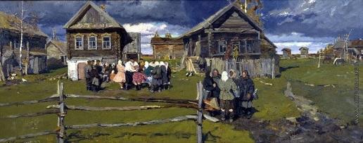 Стожаров В. Ф. Село Андрейково. Покров