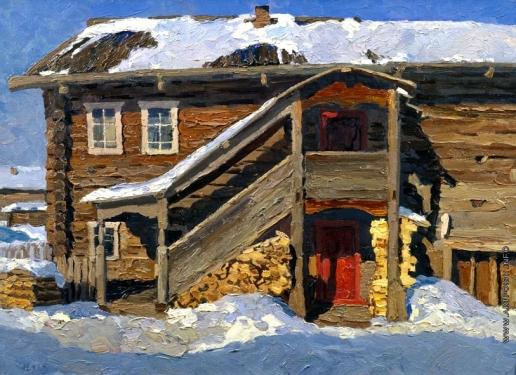 Стожаров В. Ф. Дом с красной дверью