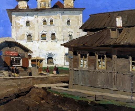 Стожаров В. Ф. Каргополь. Церковь Благовещения