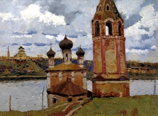 Стожаров В. Ф. Тутаев. Преображенская-Казанская церковь на Романовской стороне