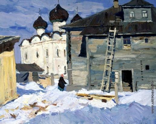 Стожаров В. Ф. Каргополь. Церковь Воскресения