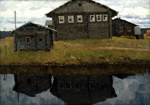 Стожаров В. Ф. Лязюв. Дом рыбака