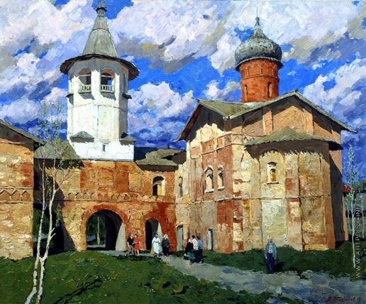 Стожаров В. Ф. Новгород. Церковь на Витковом переулке