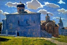 Стожаров В. Ф. Новгород. Ярославово дворище