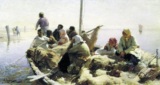 Архипов А. Е. По реке Оке
