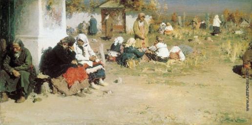 Архипов А. Е. Радоница (Перед обедней)