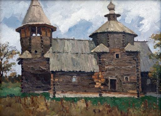 Стожаров В. Ф. Суздаль. Воскресенская церковь