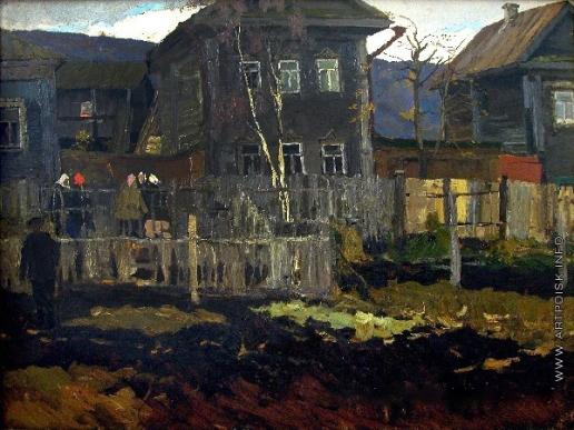 Стожаров В. Ф. Галич. Дом с огородом